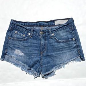 Rag & Bone distressed cutoff shorts